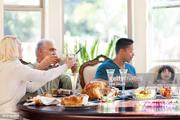 Thanksgiving-Abendessen