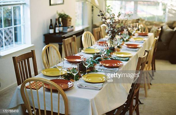 Thanksgiving, Easter, Christmas Holiday table