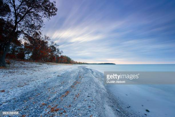 thanksgiving @ lake ontario - dustin abbott stock pictures, royalty-free photos & images