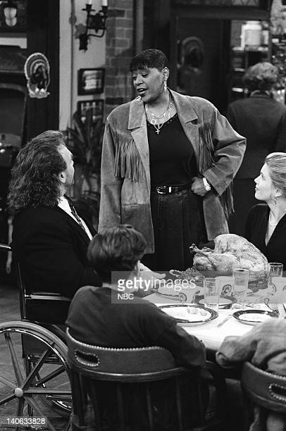 YEARS A Thanksgiving Story Episode 11 Air Date Pictured Bob Golic as Michael Rogers Marsha Warfield as herself Anne Tremko as Leslie Burke Photo by...