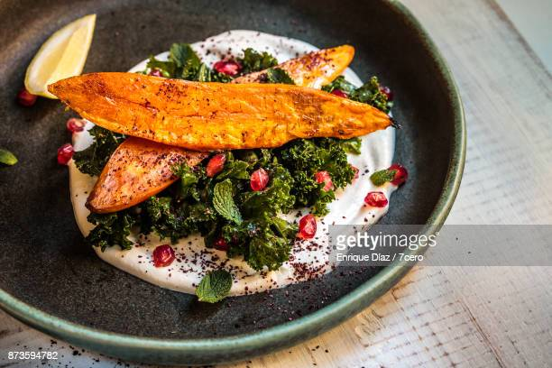 Thanksgiving Sweet Potato and Kale Side Dish