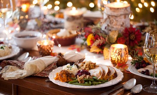 Thanksgiving Turkey Dinner 1173468769