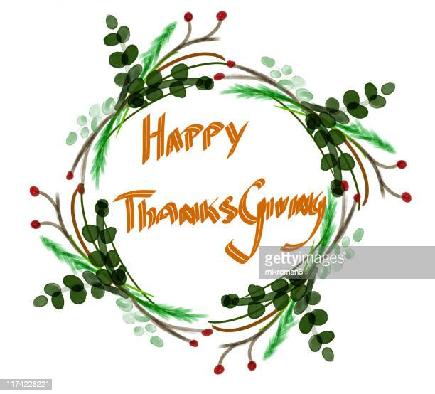 thanksgiving turkey illustration - cartoon thanksgiving stock photos and pictures
