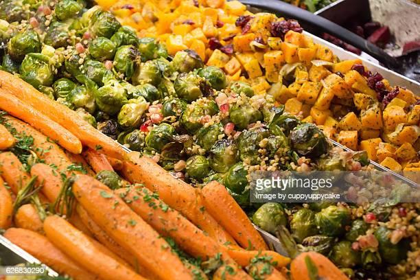 thanksgiving vegetables - nabo sueco fotografías e imágenes de stock