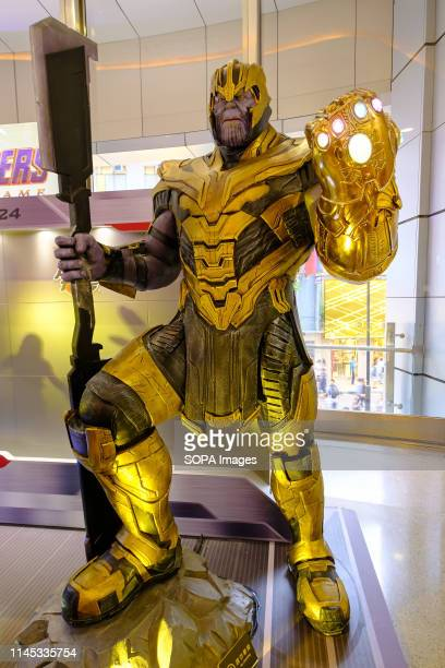 Thanos is a fictional character seen appearing in American comic books published by Marvel Comics Avengers 4 Endgame character model features 11...