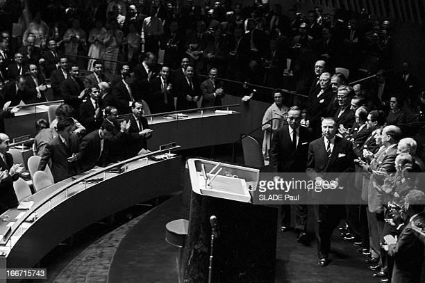 U Thant New General Secretary Of The United Nations EtatsUnis NewYork 8 novembre 1961 l'homme politique birman U THANT devient le nouveau secrétaire...