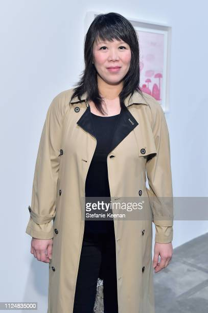 Thao Nguyen attends Hauser Wirth Los Angeles Opening of Annie Leibovitz and Piero Manzoni and Musical Performance by Patti Smith at Hauser Wirth on...