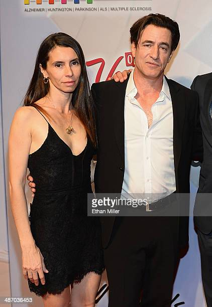 Tharita Catulle and actor Dermot Mulroney attend the 18th annual Keep Memory Alive Power of Love Gala benefit for the Cleveland Clinic Lou Ruvo...