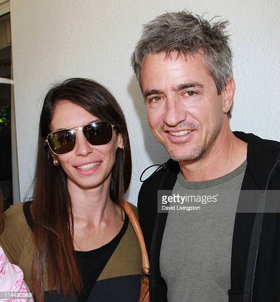 Tharita Catulle and actor Dermot Mulroney attend the Rise Up Christchurch telethon appeal event at the residence of the New Zealand ConsulateGeneral...