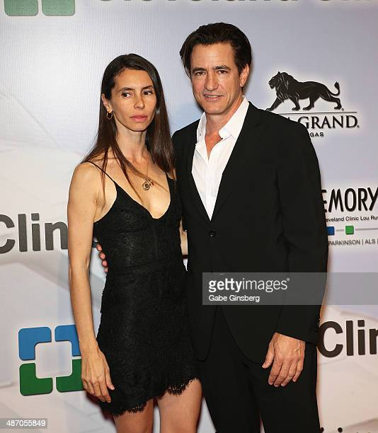 Tharita Catulle and her husband actor Dermot Mulroney attend the 18th annual Keep Memory Alive Power of Love Gala benefit for the Cleveland Clinic...