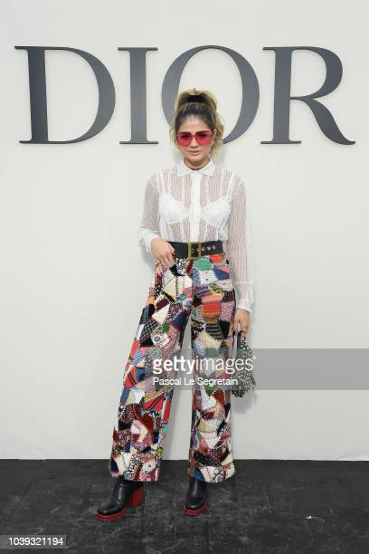 Thassia Naves attends the Christian Dior show as part of the Paris Fashion Week Womenswear Spring/Summer 2019 on September 24 2018 in Paris France