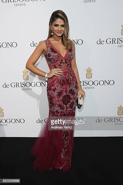 Thassia Naves attends the De Grisogono Party during the annual 69th Cannes Film Festival at Hotel du CapEdenRoc on May 17 2016 in Cap d'Antibes France