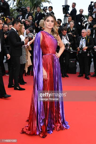 Thassia Naves attends the screening of Les Miserables during the 72nd annual Cannes Film Festival on May 15 2019 in Cannes France