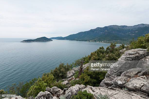 thassos island - thasos stock photos and pictures