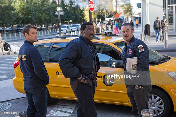 FIRE 'That Day' Episode 506 Pictured Jesse Spencer as Matthew Casey Eamonn Walker as Wallace Boden Taylor Kinney as Kelly Severide