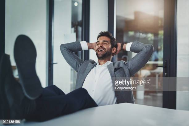 that feeling after you've slayed all day - feet up stock pictures, royalty-free photos & images