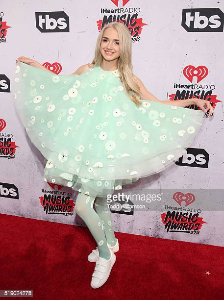 That Poppy attends the iHeartRadio Music Awards at the Forum on April 3 2016 in Inglewood California