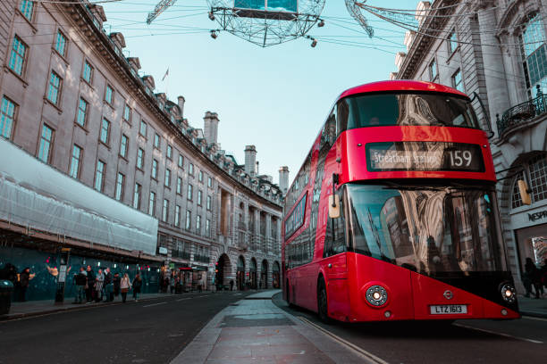 That red london bus