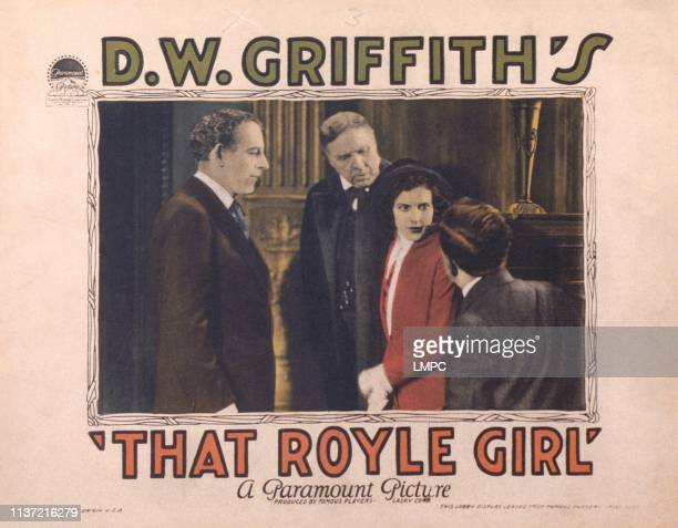 That Royale Girl US lobbycard James Kirkwood Carol Dempster 1925