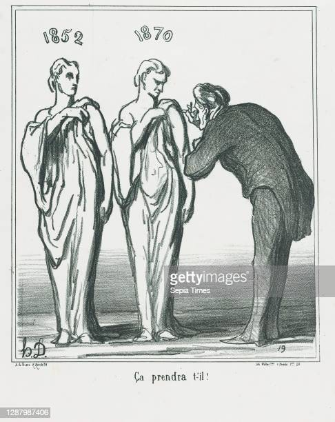 That will do the job!, from 'News of the day,' published in Le Charivari, April 25 'News of the day' , Honore Daumier , Lithograph on wove paper;...