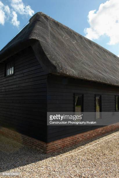 Thatched barn conversion Suffolk UK