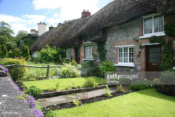 Thatched cottages in Adare, Ireland