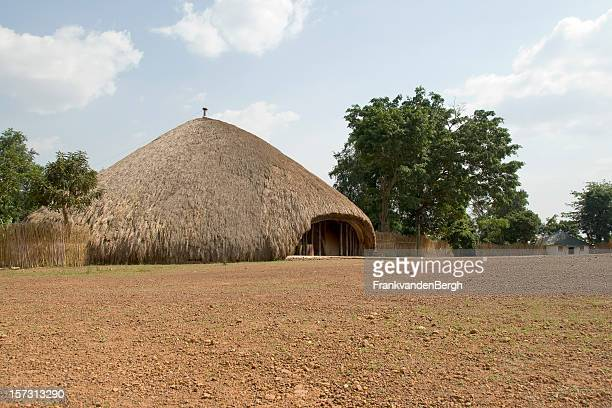 thatched roof - kampala stock pictures, royalty-free photos & images