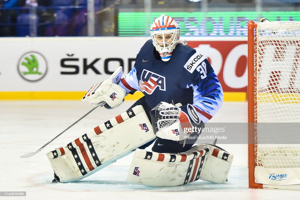 United States v Great Britain: Group A - 2019 IIHF Ice Hockey World Championship Slovakia : News Photo