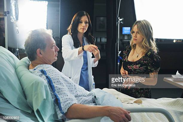 GREY'S ANATOMY 'PYT ' Thatcher Grey Meredith and Lexie's father returns to Seattle Grace with stomach pains and a new twentysomething tattooed...