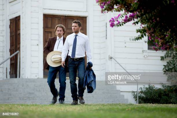 SHOOTER That'll Be the Day Episode 208 Pictured Josh Stewart as Solotov Ryan Phillippe as Bob Lee Swagger