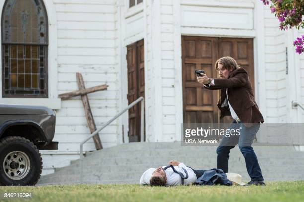 SHOOTER That'll Be the Day Episode 208 Pictured Ryan Phillippe as Bob Lee Swagger Josh Stewart as Solotov