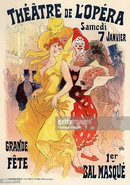 Théatre de l'opéra Bal masqué 18981899 From a private collection
