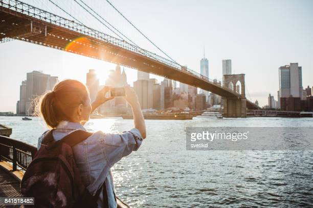 that's a view you just have to capture! - new york stock pictures, royalty-free photos & images
