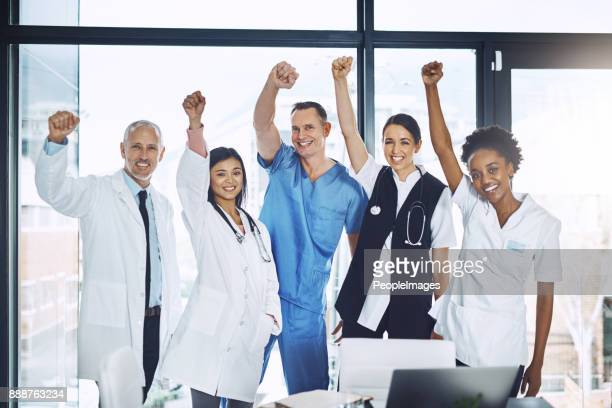 that's another life saved! - trade union stock pictures, royalty-free photos & images