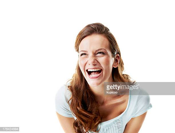 that's hilarious - hysteria stock pictures, royalty-free photos & images