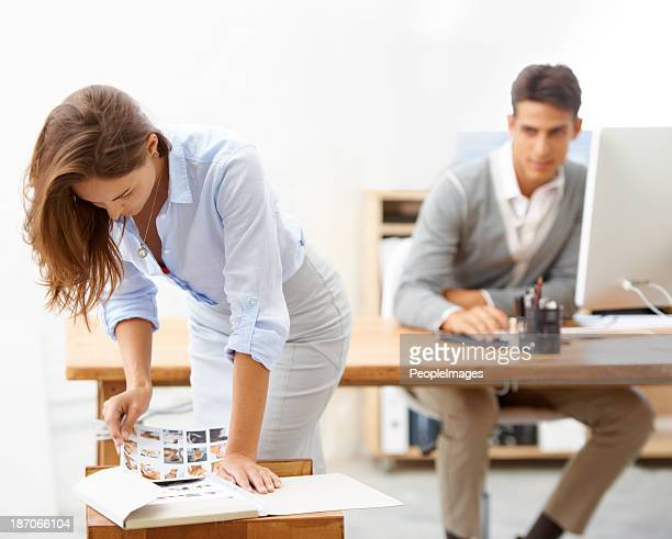 that's inappropriate behaviour for the office - work romance stock pictures, royalty-free photos & images