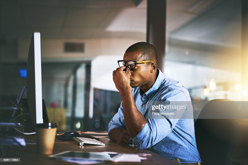 That's it, I'm done! : Stock Photo