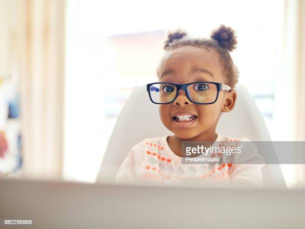 that's one smart kid - funny black girl stock photos and pictures