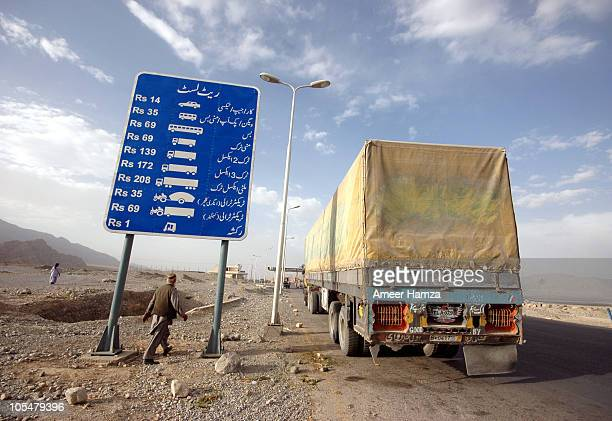 That's the rate list painted just before you enter the toll plaza for Quetta. It was evening, we were tired and we were looking for some great dinner...