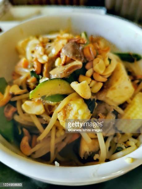 thau goreng - vegetarian food stock pictures, royalty-free photos & images