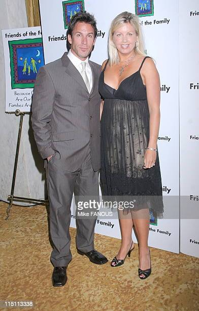 The 10th Annual Family Matters Benefit in Beverly Hills United States on May 19 2006 Dan Cortese and wife at the Regent Beverly Wilshire Hotel