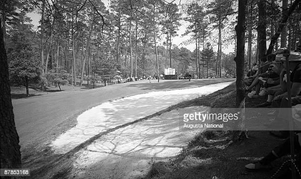 The 10th hole during the 1964 Masters Tournament at Augusta National Golf Club in April 1964 in Augusta Georgia