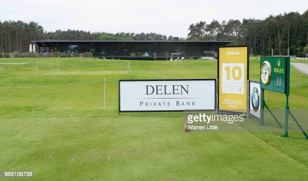 The 10th tee is pictured ahead of the Belgian Knockout at the Rinkven International GC on May 16 2018 in Antwerpen Belgium