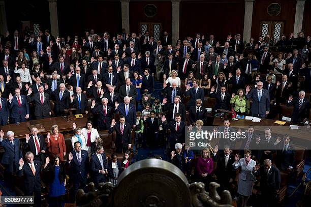 The 115th Congress is sworn in on the House floor on Tuesday Jan 3 2017