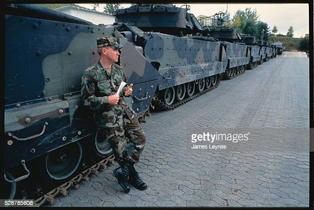 The 11th Armored Cavalry Regiment is waiting to withdraw from Germany