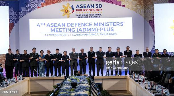 The 11th Association of Southeast Asian Nations Defence Ministers and 4th ADMMPlus Australia's Defence Minister Marise Ann Payne Brunei's Minister of...
