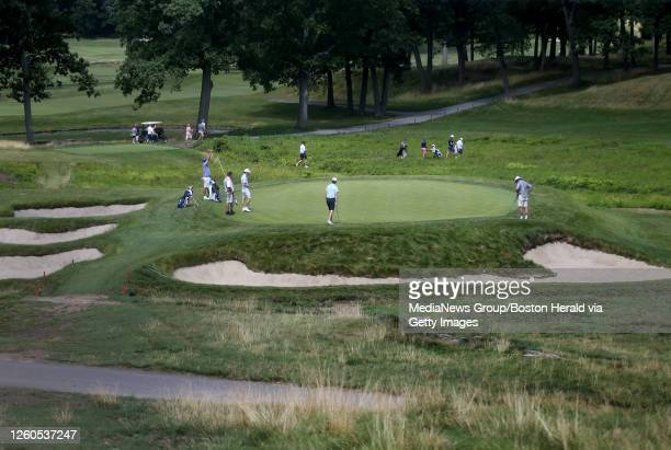 The 12th green at The Country Club on July 16, 2019 in Brookline, MA.