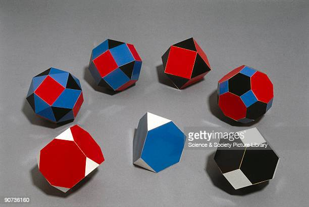 The 13 Archimedean solids are believed to have been discovered by the Greek mathematician Archimedes The first complete description of the convex...