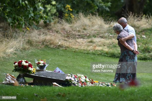 The 13th anniversary of the London bombings is commemorated at the Hyde Park memorial PHOTOGRAPH BY Matthew Chattle / Barcroft Images