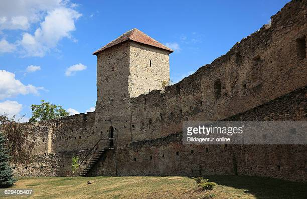 The 13th Century built Castle of the Counts of Kelling which belongs to the World Heritage Site since 1993 Calnic German Kelling is a village in Alba...